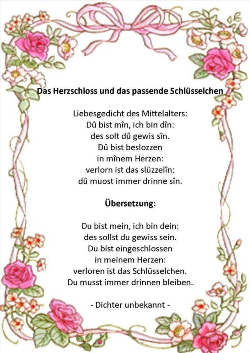 Hochzeitskarte schreiben originelle Idee herrliches Gedicht