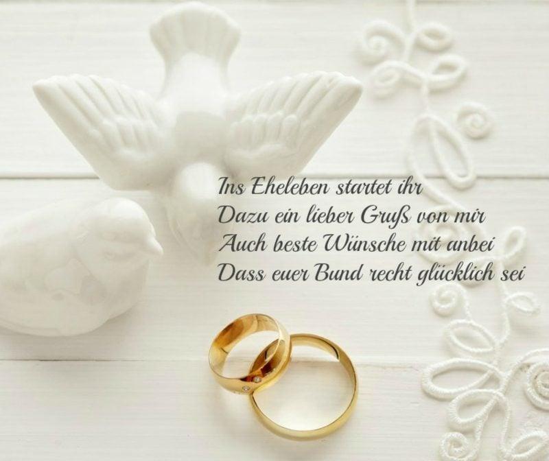 Wünsche für die Zukunft Hochzeit