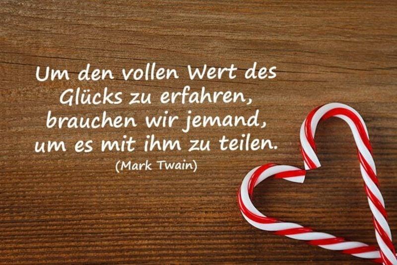 Glückwunsch zur Hochzeit Zitat von Mark Twain Liebe Glück