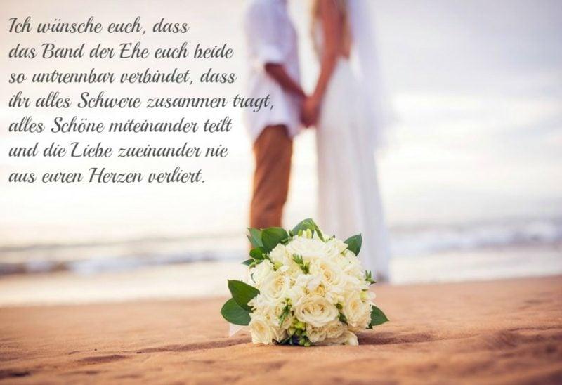 romantische Hochzeitswünsch