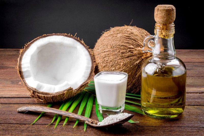 natives Kokosöl für die Haare Vorteile
