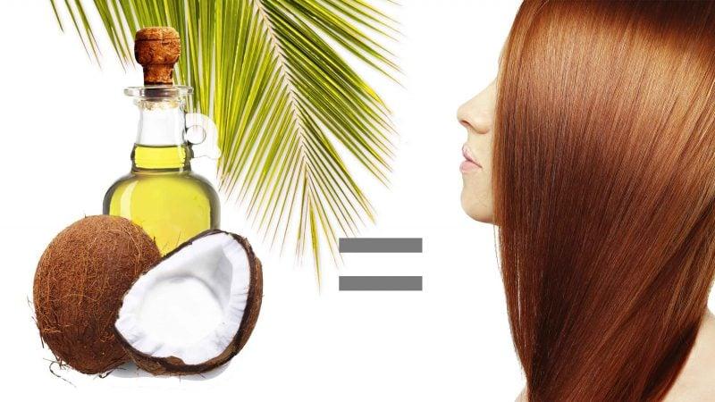 Kokosöl für die Haare Wirkung, Inhaltsstoffe und Vorteile