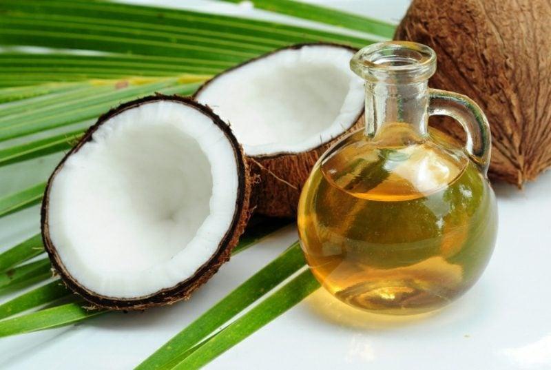 Kokosöl Haut und Haare zarte Pflege