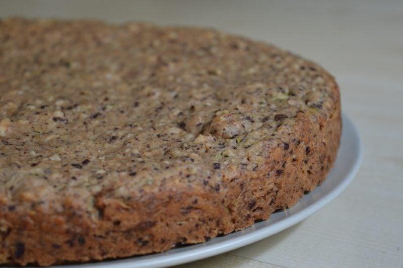 Kuchen ohne Ei veganer Schokokuchen mit Haselnüssen
