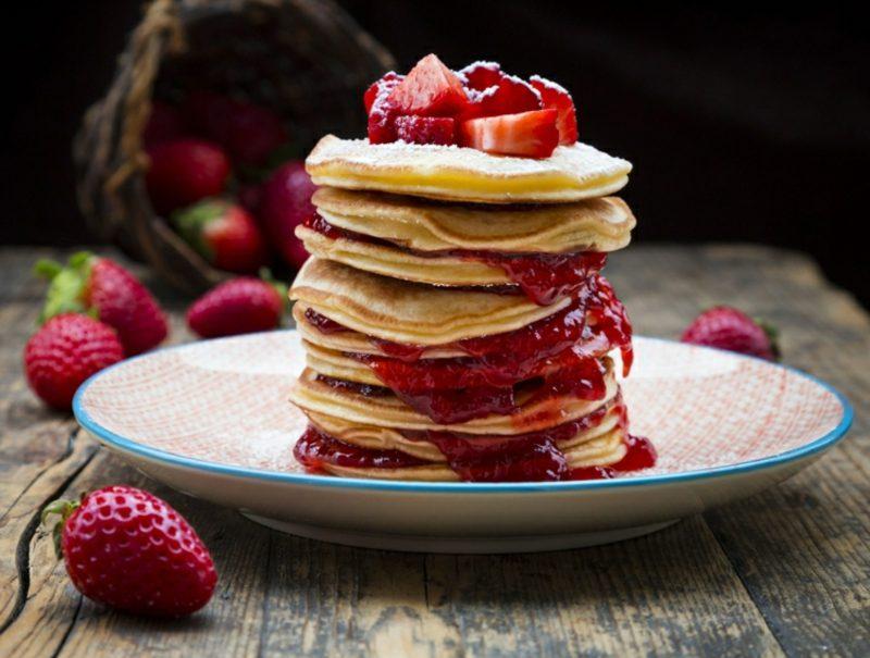 Eiweißpulver Pancakes low carb