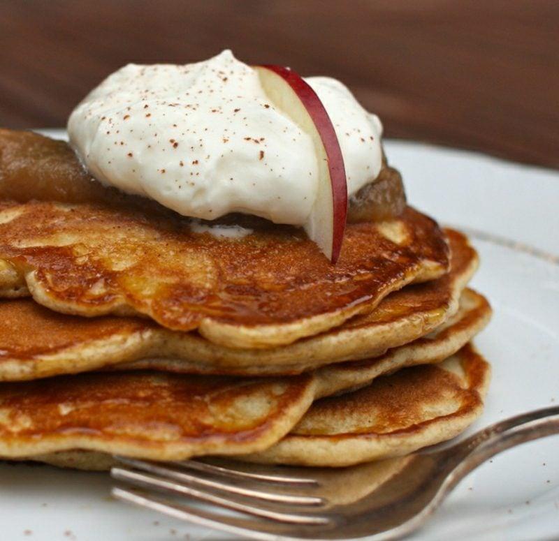 schnelle und gesunde Rezepte low carb Pancakes