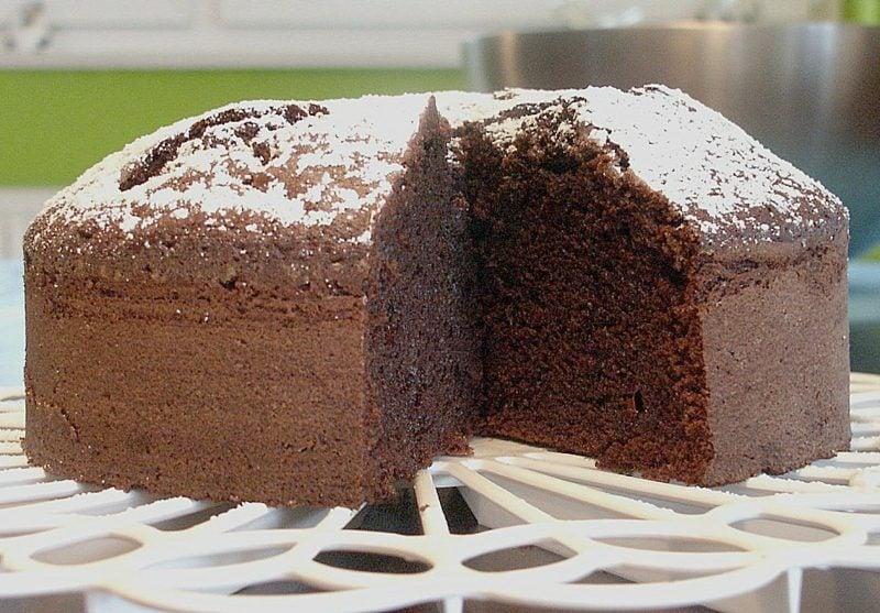 veganer Kuchen Grundrezept mit Schokolade