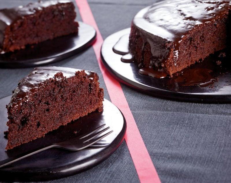 Kuchen mit Schokolade vegane Kuchenrezepte