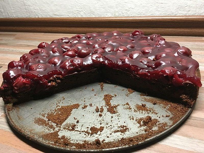kohlenhydratfreie Gericht Kuchen ohne Mehl und Zucker