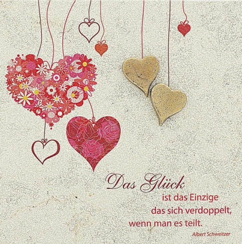 Wünsche für die Zukunft Glück Liebe Hochzeit