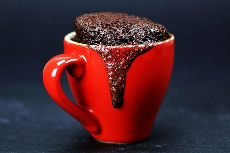 Tassenkuchen mit Schokolade vegan