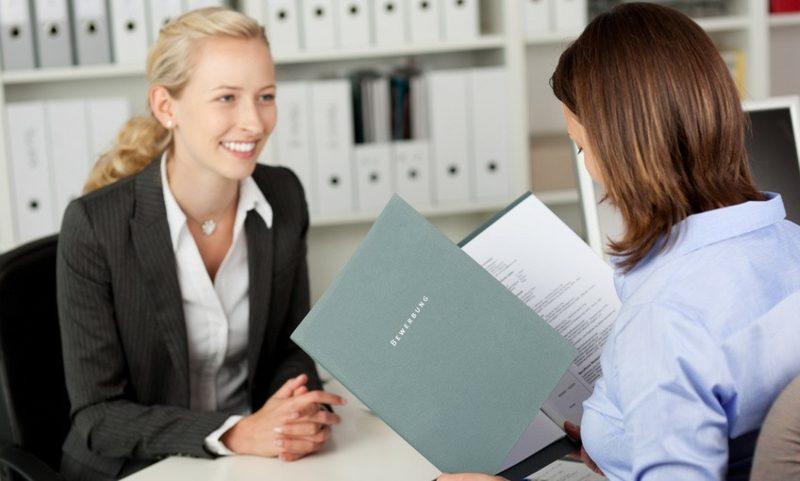 Fragen an Frauen Vorstellungsgespräch