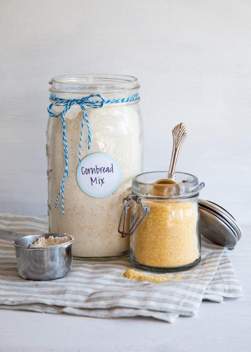 Brot im Glas schenken - Backmischung im Glas Rezept