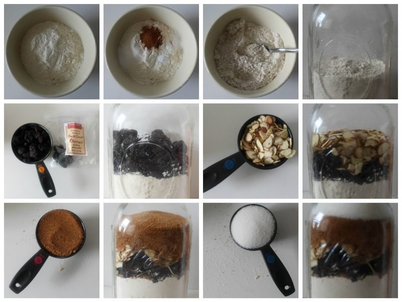 Backmischung im Glas selber machen - Kekse rezept