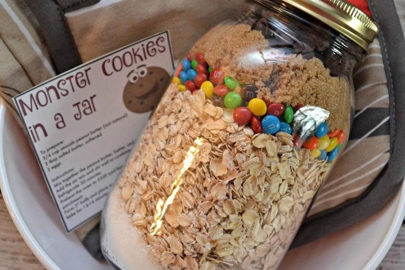 Cookies mit Haferflocken - Backmischung im Glas selber machen