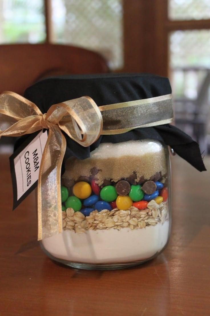 Backmischung im Glas selber machen - Verpackung und Geschenke selber basteln