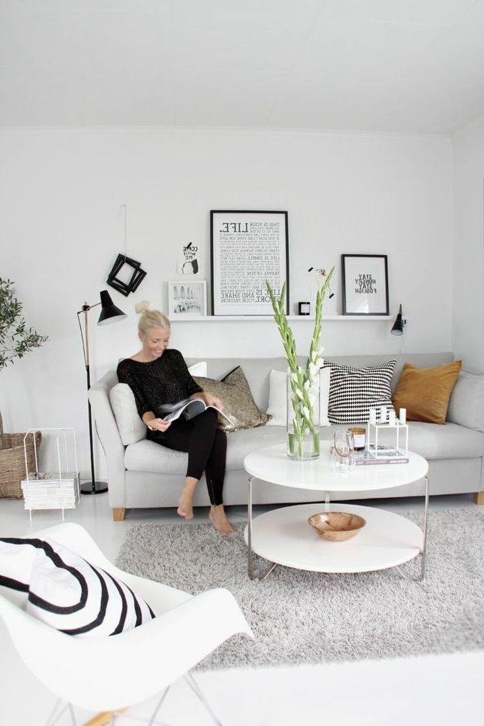 Designer Sofas im skandinavischen Stil