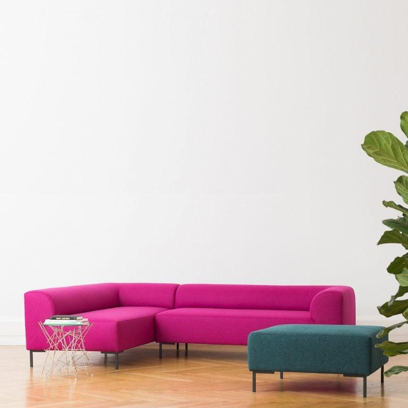Material und Farbe des Designer Sofas