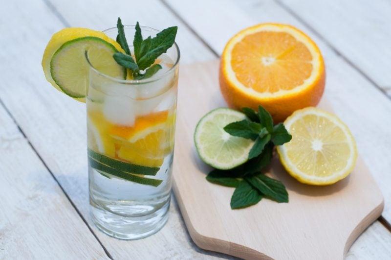 detox wasser trinken gesund