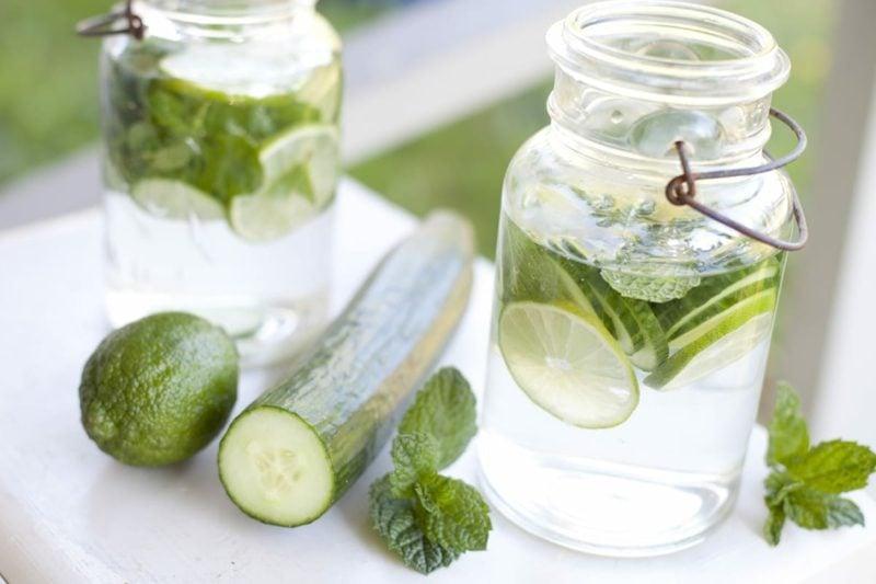 detox gurkenwasser selbst machen