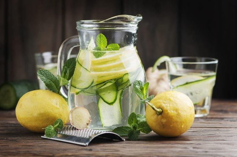ingwerwasser detox rezepte