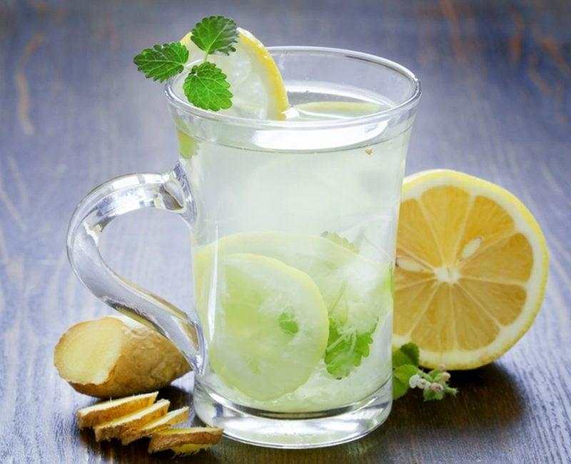 ingwerwasser trinken