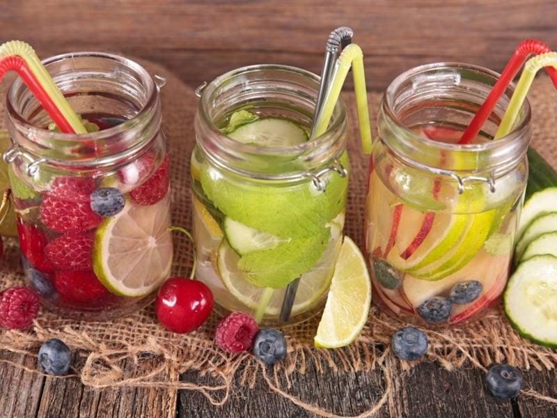 vitaminreiches detox wasser rezepte