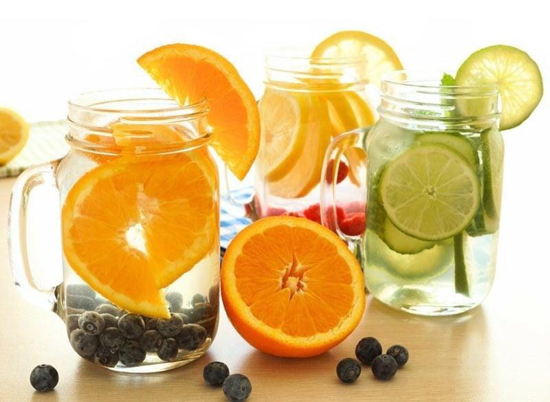 fettverbrennende wirkung detox wasser