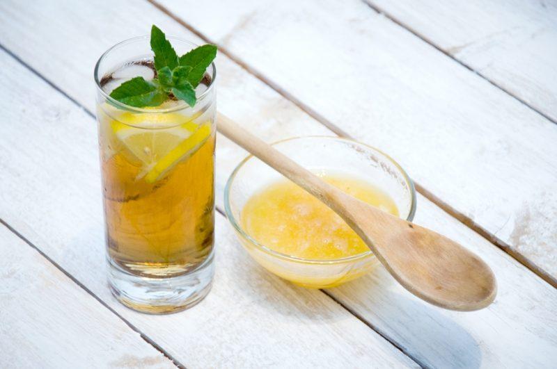 rezepte für detox wasser mit ingwer