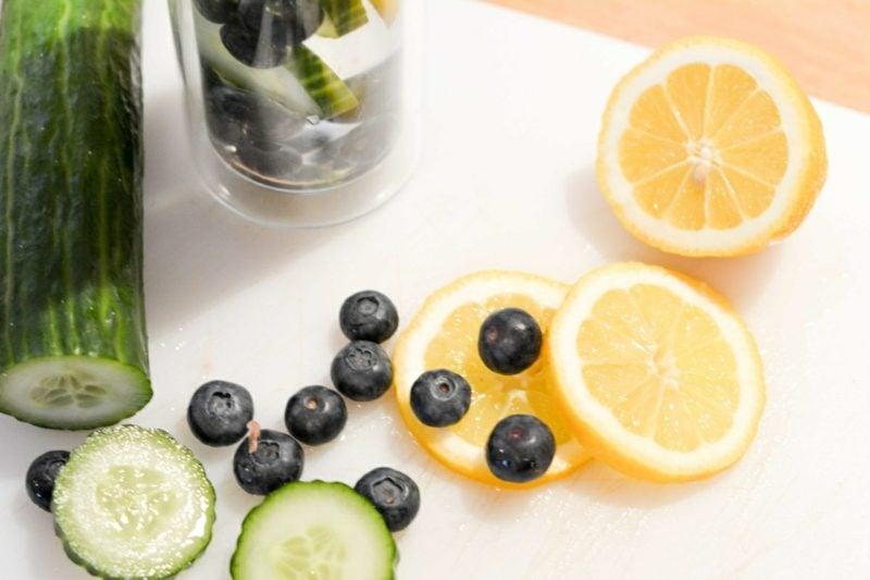 detox wasser zu trinken ist gesund