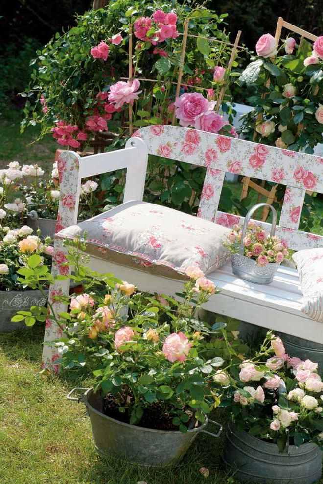 Terrasse gestalten und dekorieren mit DIY Anleitung