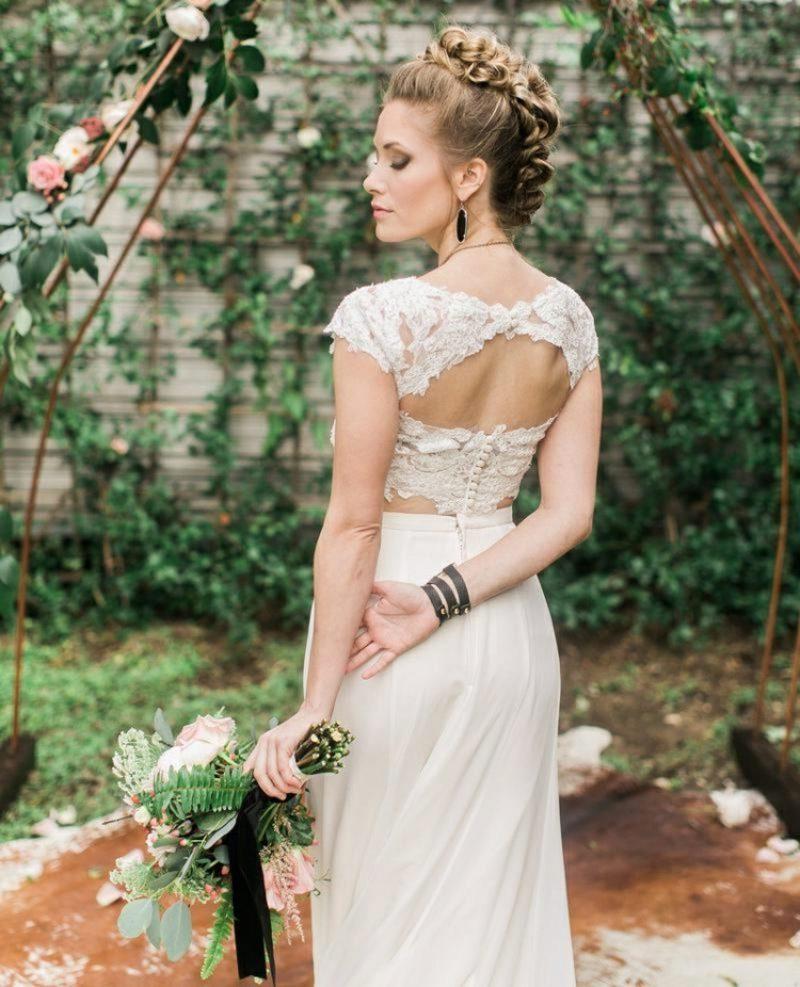 Frisur Hochzeitsgast, Brautjungfer, Braut kreative Ideen