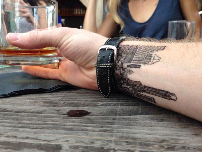 Ephemeral Tattoo oder Bio Tattoo?