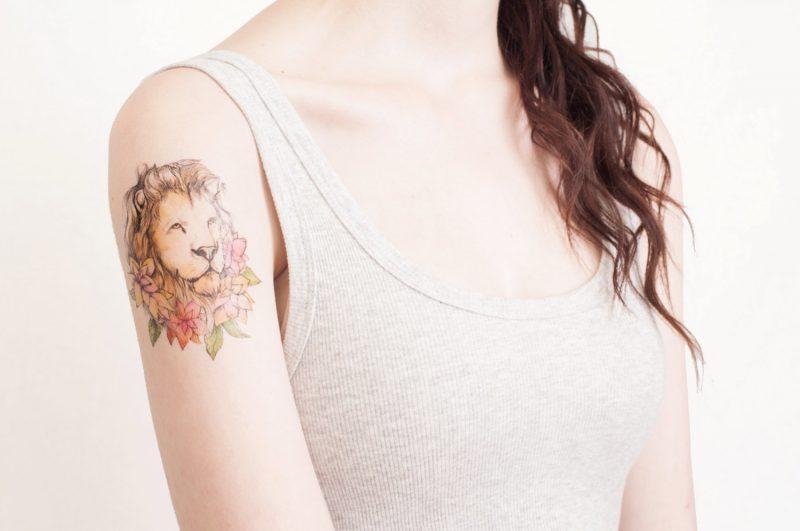 Ephemeral Tattoo sollte nach einem Jahr verschwinden