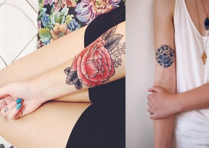 Wie Cool Echtes Tattoo Für 1 Jahr Das Neue Ephemeral Tattoo