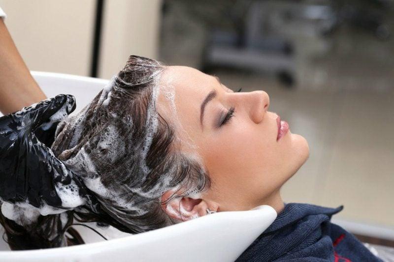 schnell fettende Haare waschen