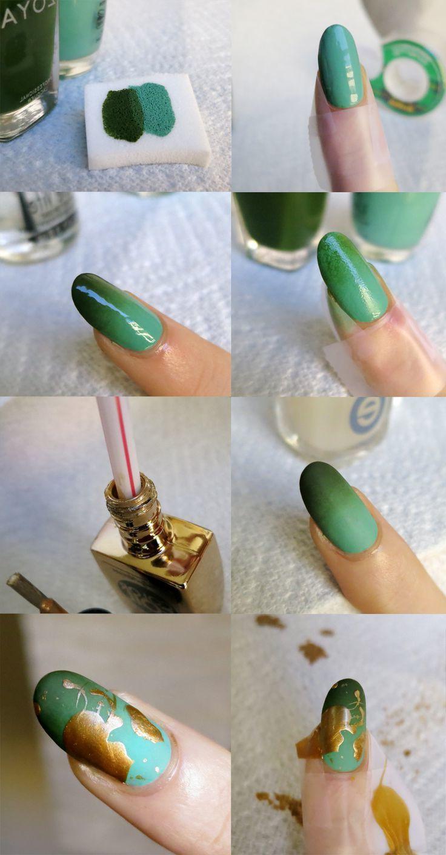 Fingernägel Design selber machen Anleitung