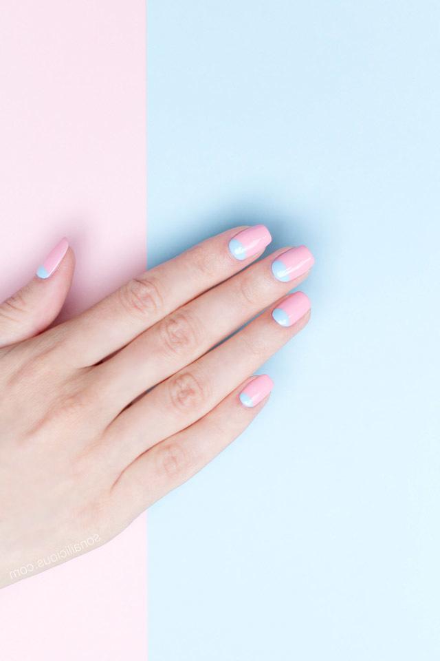 Rosa Nägel Fingernägel 2017