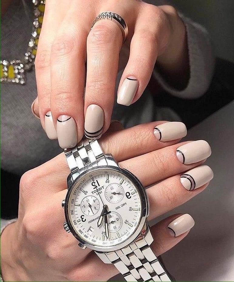 Nagellack trends rosenquarz marmor fingern gel noch 20 - Nagellack ideen ...
