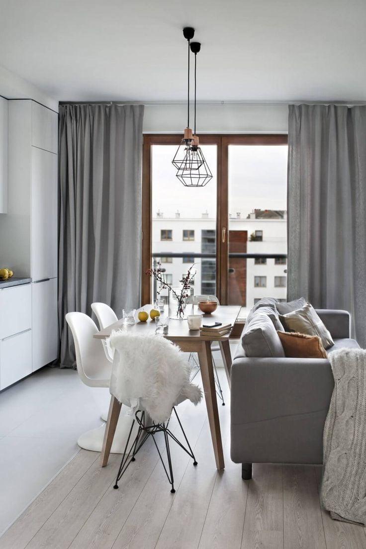 fensterdeko mit gardinen von der befestigung bis zur. Black Bedroom Furniture Sets. Home Design Ideas