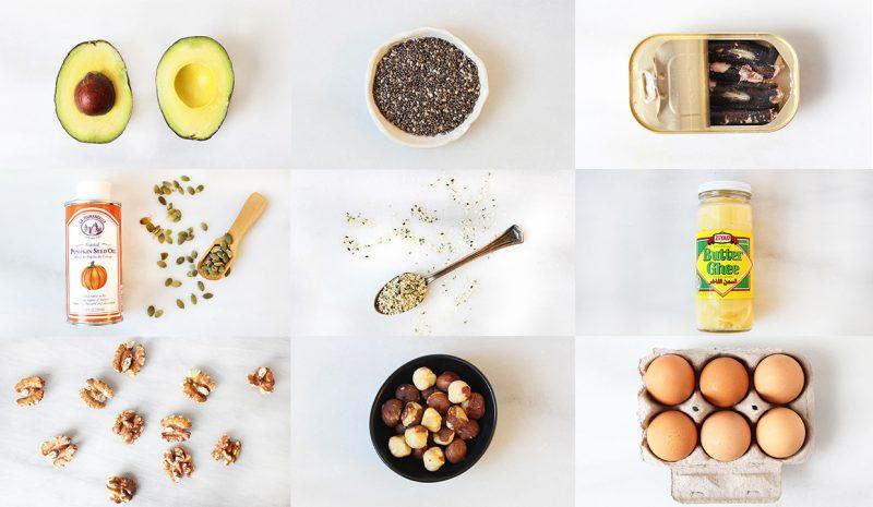 Gesunde Fette helfen beim Abnehmen Ernährung