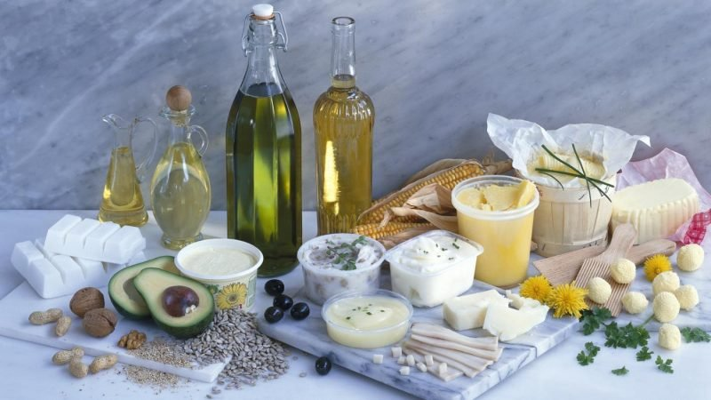 körperfett reduzieren mit gesunde fette