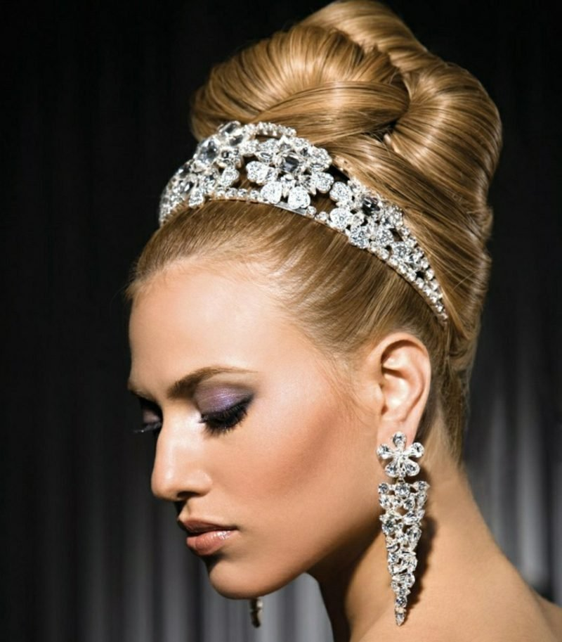 Frisuren für Hochzeit stilvolle Ideen