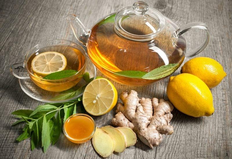 wirkstoffen ingwertee mit honig
