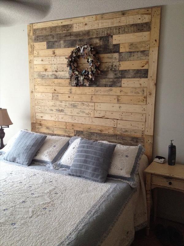 Wooden Pellets Bed Frame