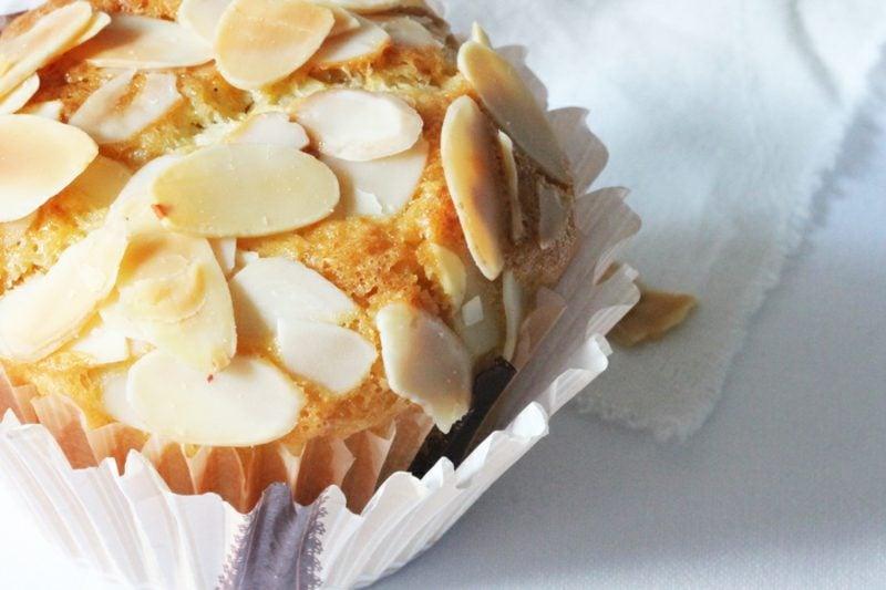 geiles Essen gesunde Muffins mit Mandeln