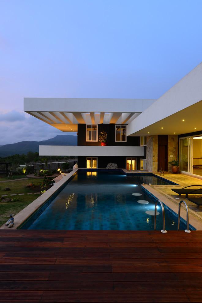 grundriss einfamilienhaus modernes haus