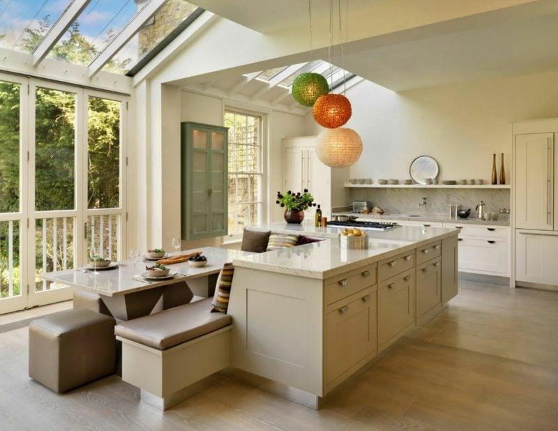 wohnküche ideen offene küche