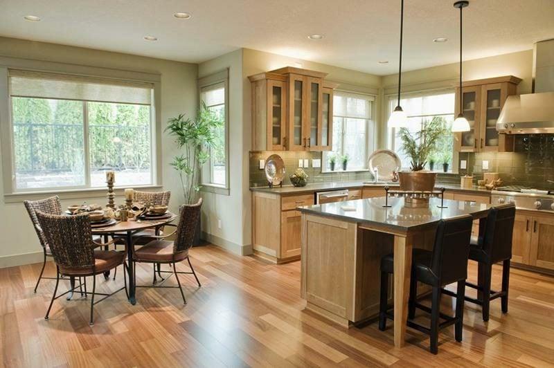 theke küche wohnzimmer ideen