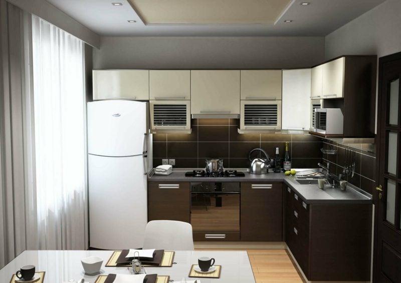 wohnküche offene küchenplanung